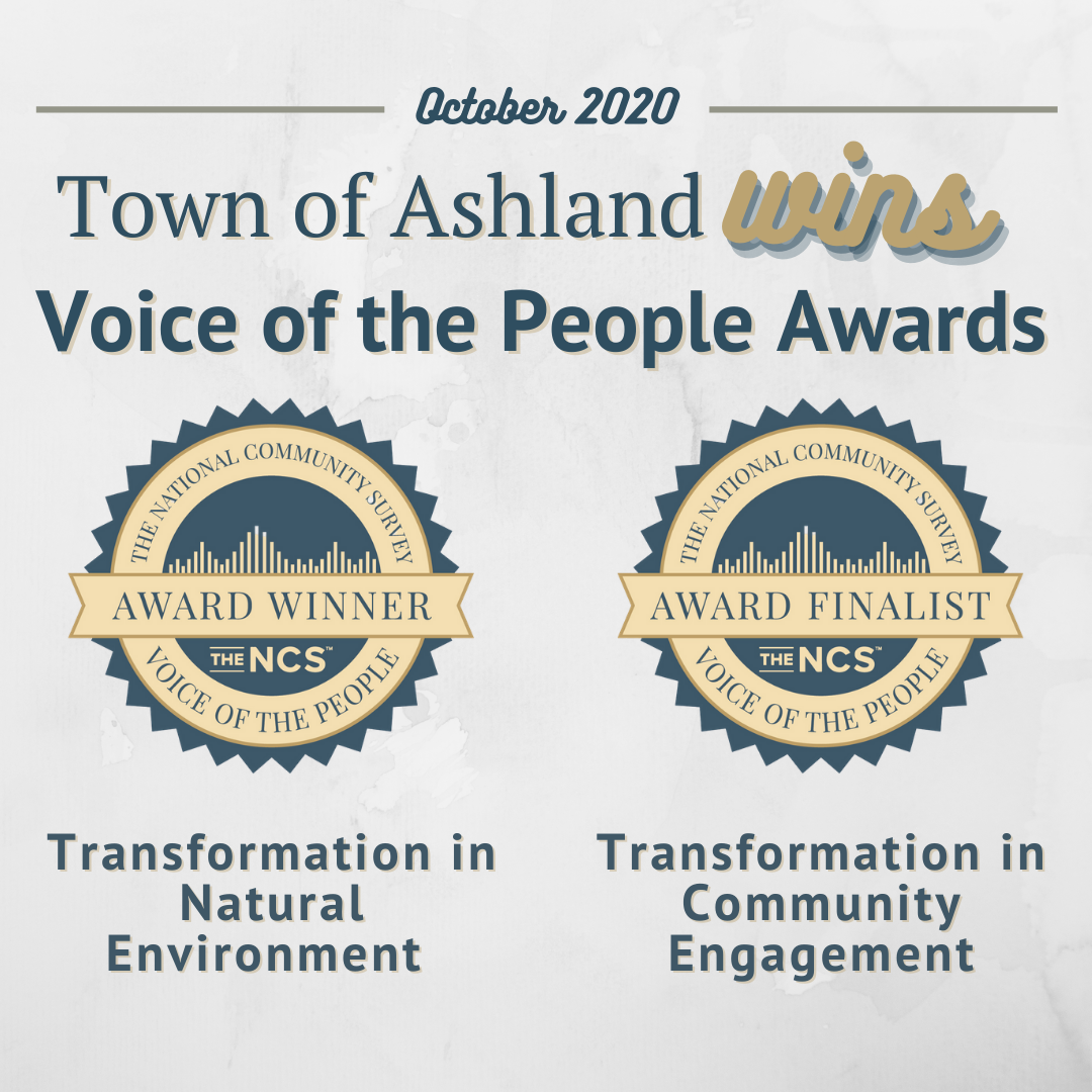 Town of Ashland VOTP Awards 102020