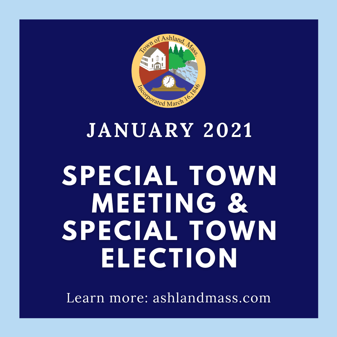 New Special Town Meeting Dates